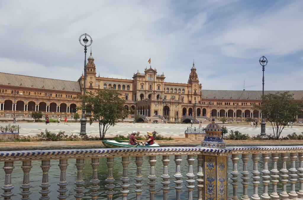 Der Plaza de España in Sevilla