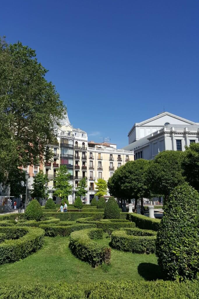 Der Plaza de Oriente