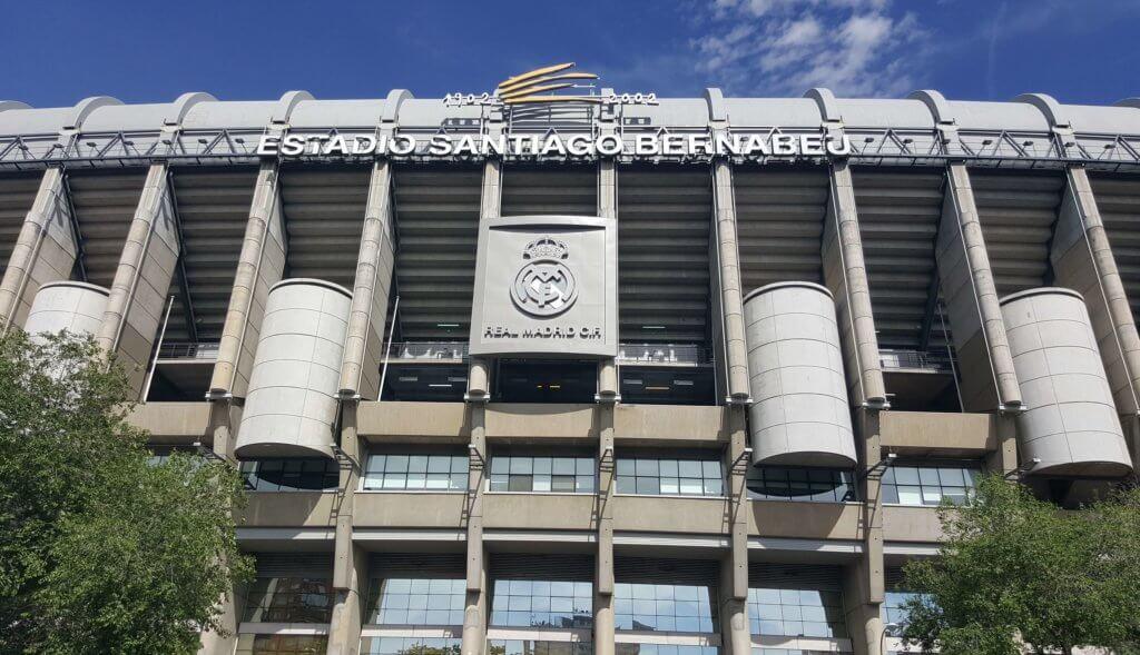 Das Estadio Santiago Bernabéu