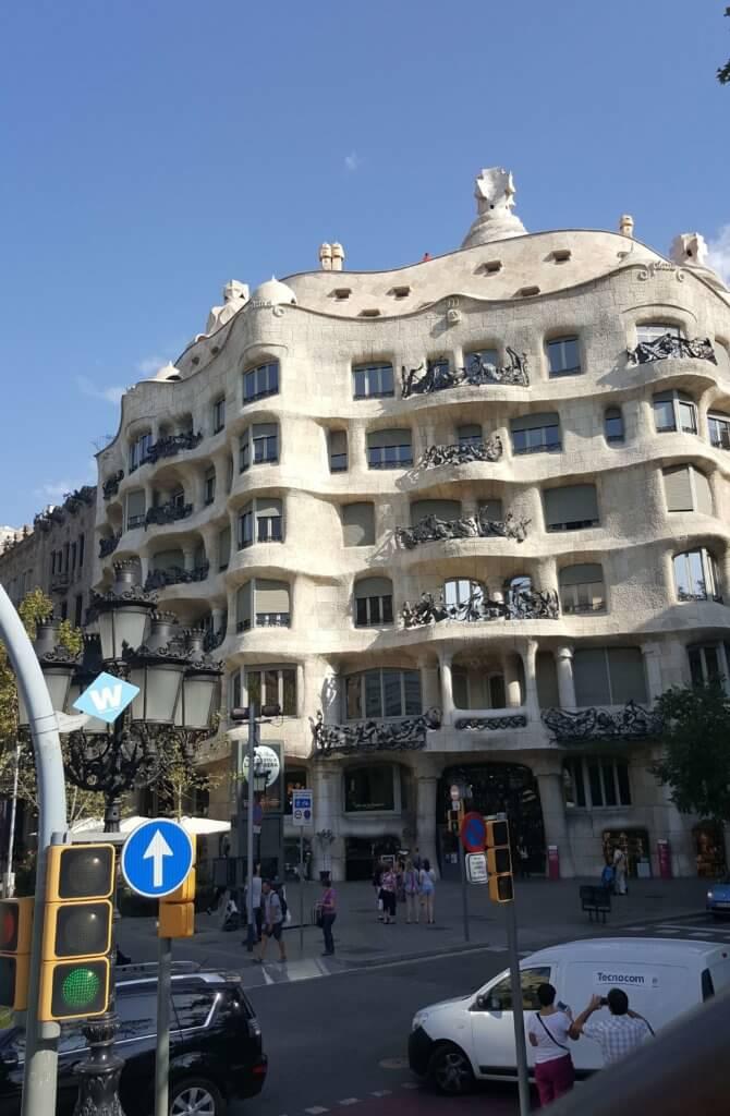 Casa Milà von Gaudi