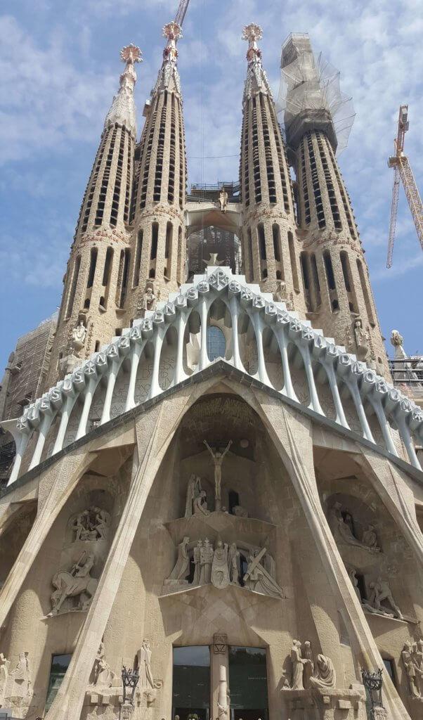 Die Sagrada Familia von Gaudí