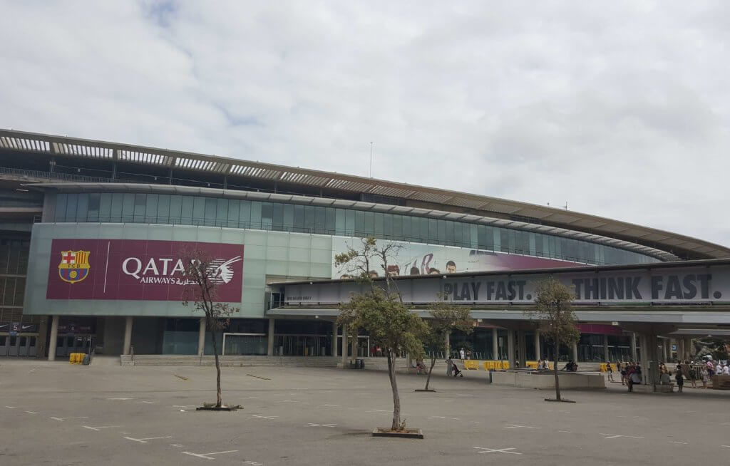 Camp Nou - das Stadion des FC Barcelona