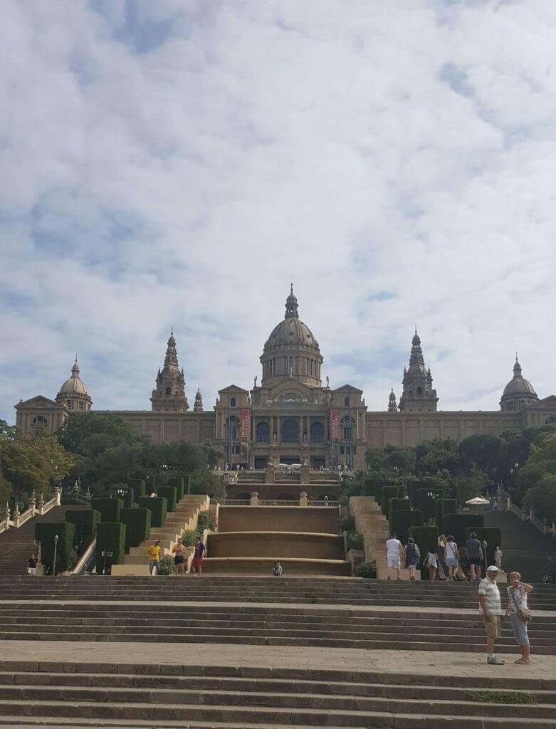 Der Palau Nacional Nationalpalast