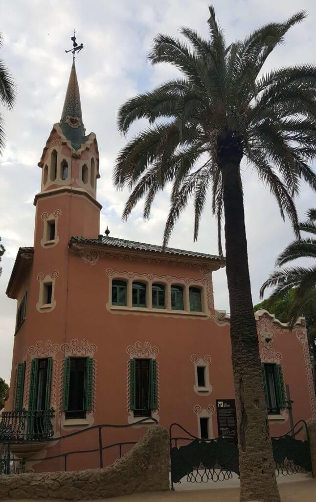 Das ehemalige Wohnhaus Gaudís im Park Güell