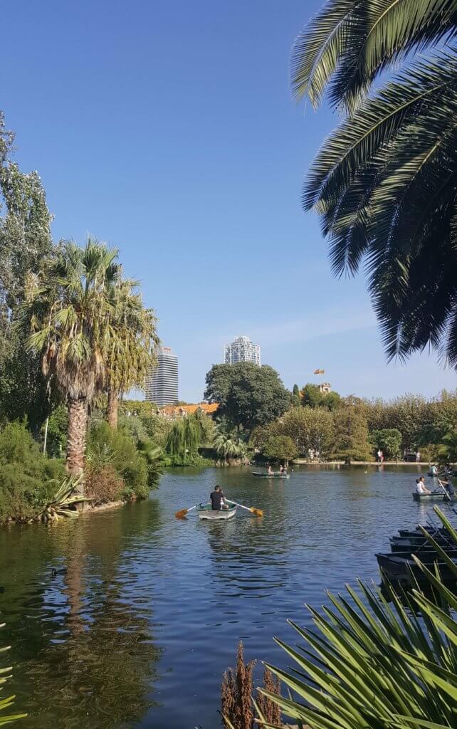 Im Parc de la Ciutadella