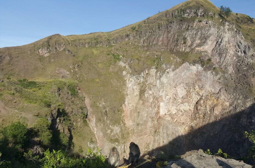 Am Krater des Gunung Batur