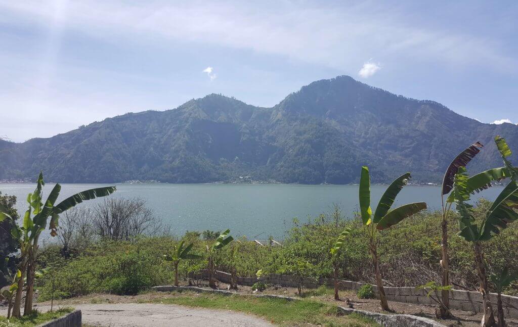 Blick auf den Batur-See