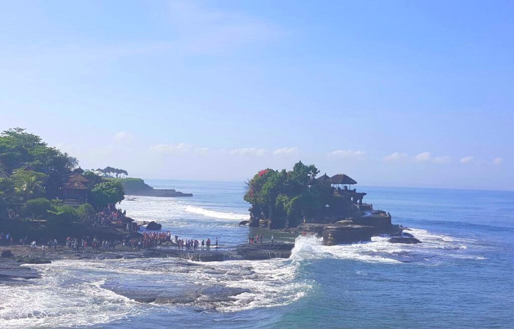 Der Meerestempel Pura Tanah Lot