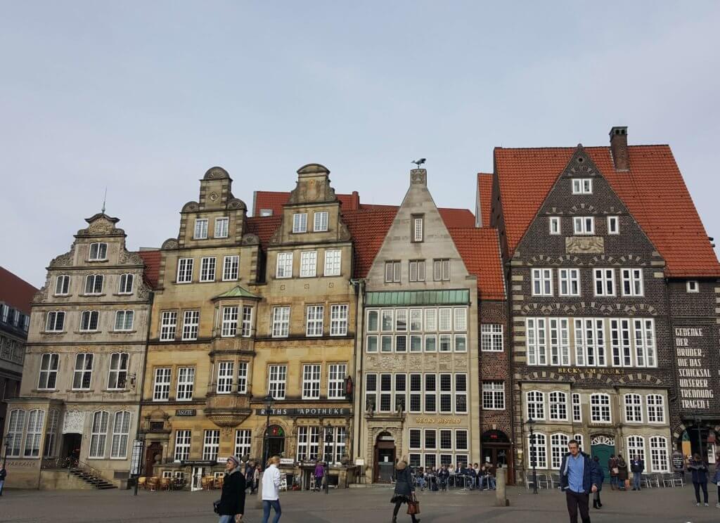 Marktplatzhäuser von Bremen