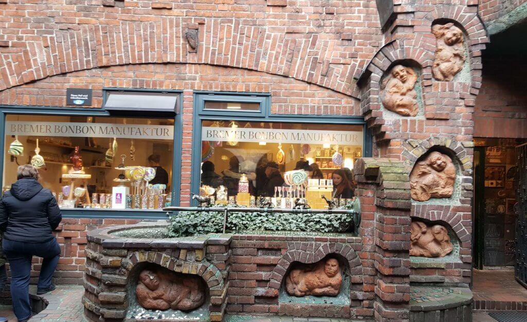 Die Bonbonmanufaktur in der Böttcherstraße