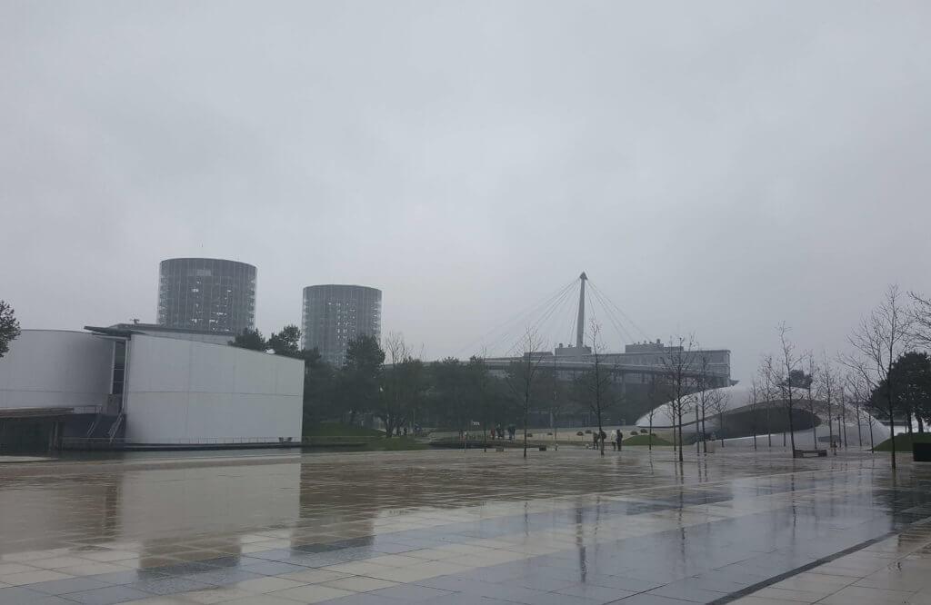In der Autostadt Wolfsburg