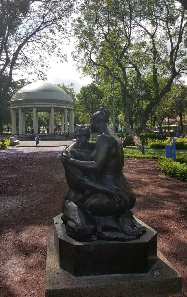 Im Parque Morazán
