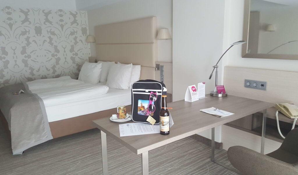 Mein Zimmer im Crowne Plaza