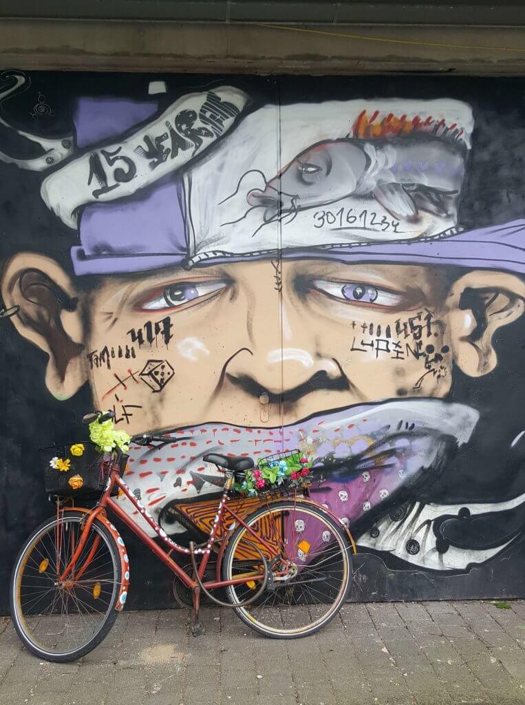 Street Art im Glocksee Jugendzentrum