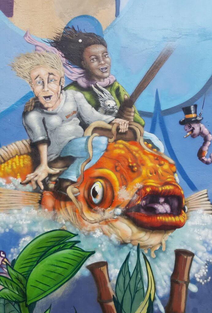 Street Art in Linden-Nord