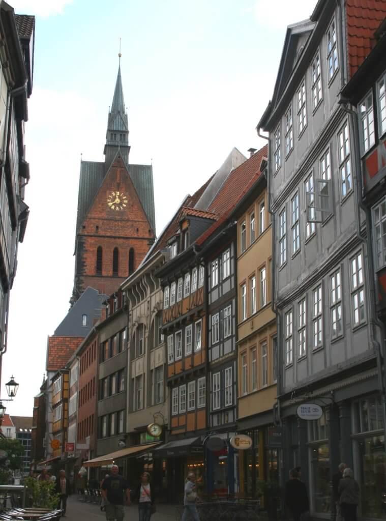 Die Altstadt von Hannover