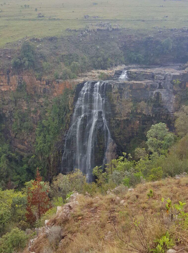 Die Lisbon Falls. Sie stürzen aus 92 Meter in die Tiefe