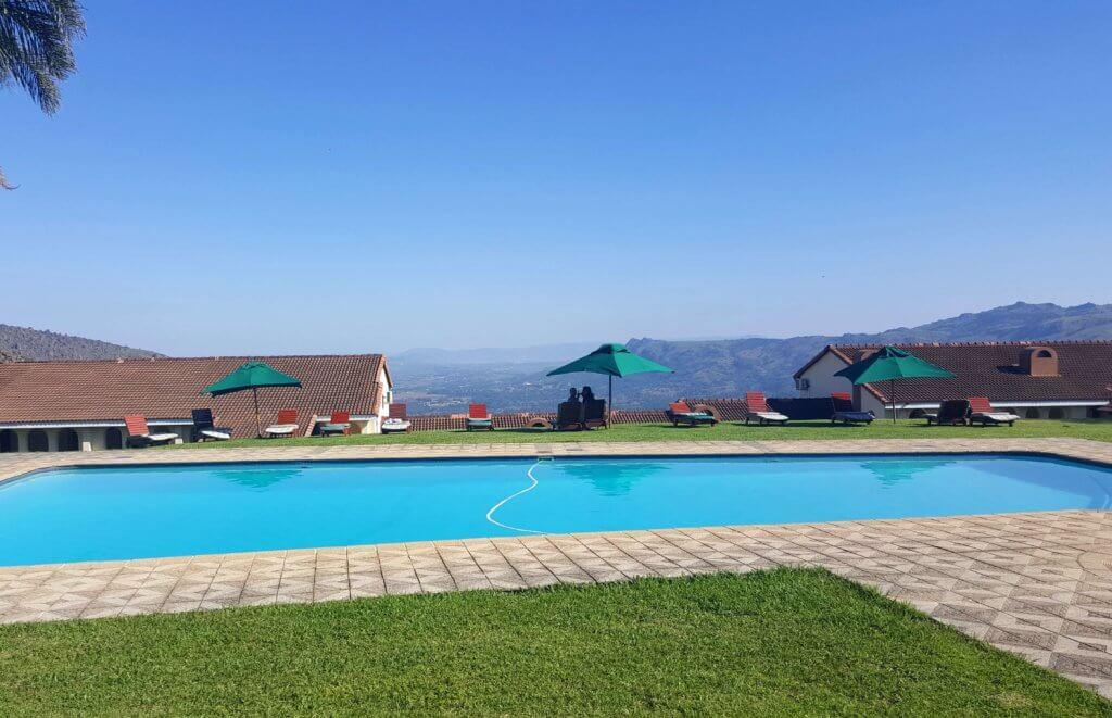 In unserer Unterkunft in Swasiland