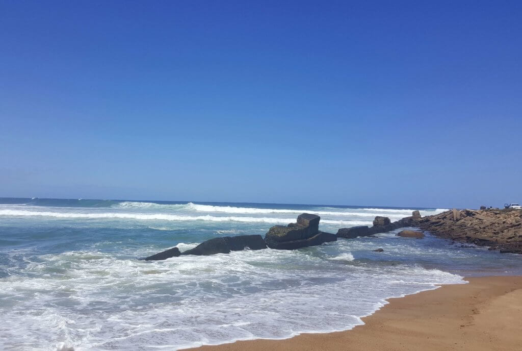 Die Küste in Port Shepstone