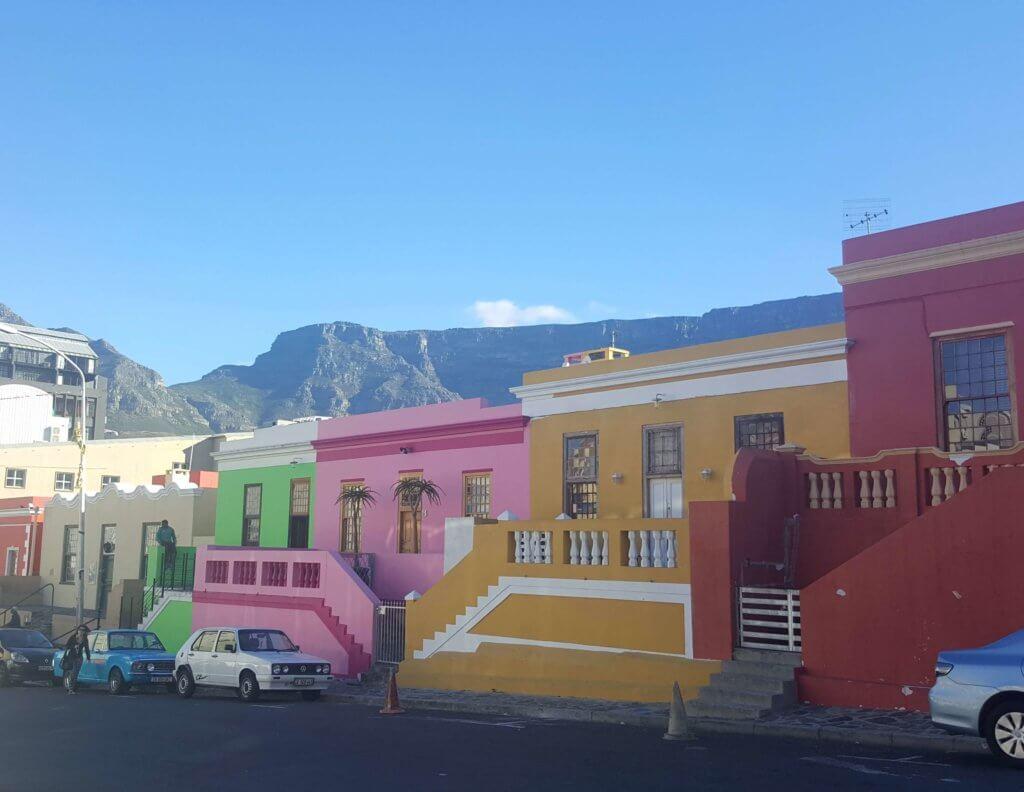 Das Viertel Bo-Kaap in Kapstadt
