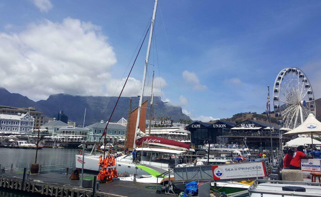 Die Victoria Alfred Waterfront in Kapstadt