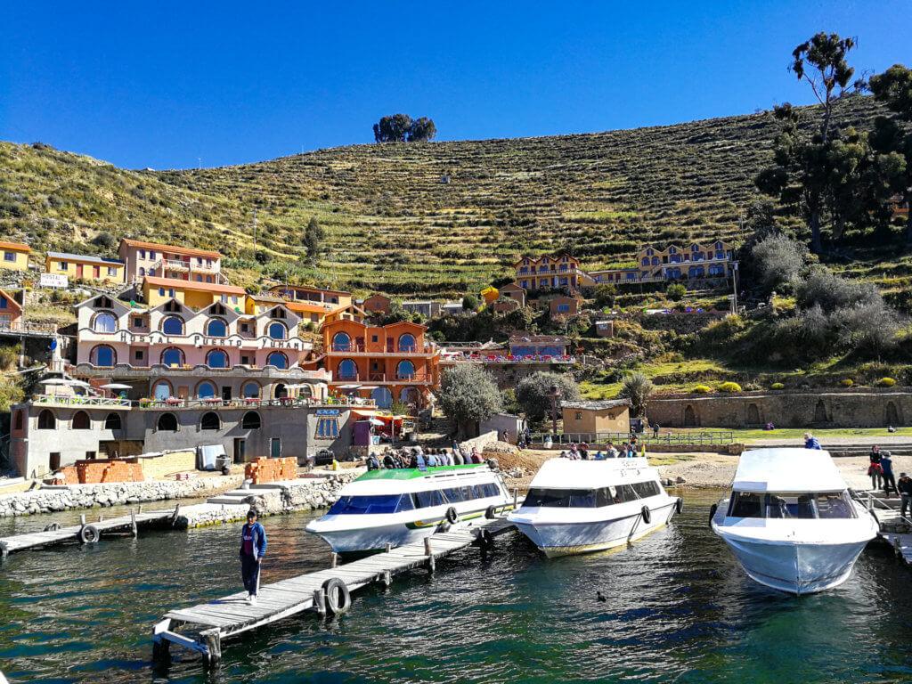 Der Hafen der Isla del Sol