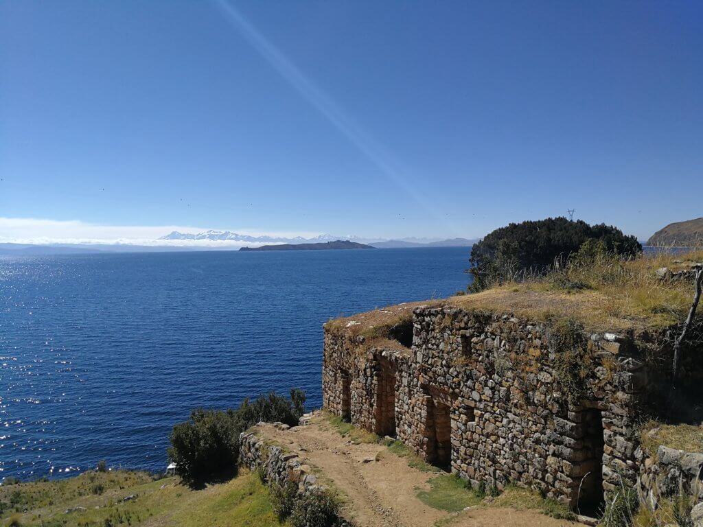 Die Inka-Ruinen des Titicacasee