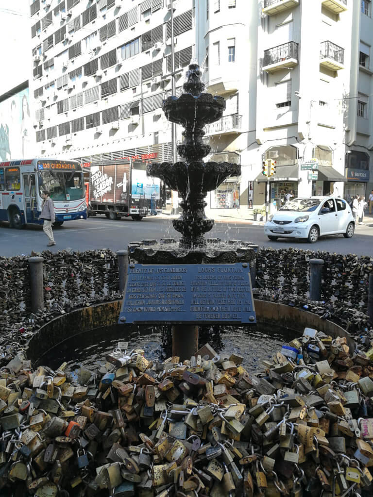 Schlüssel-Brunnen in Montevideo