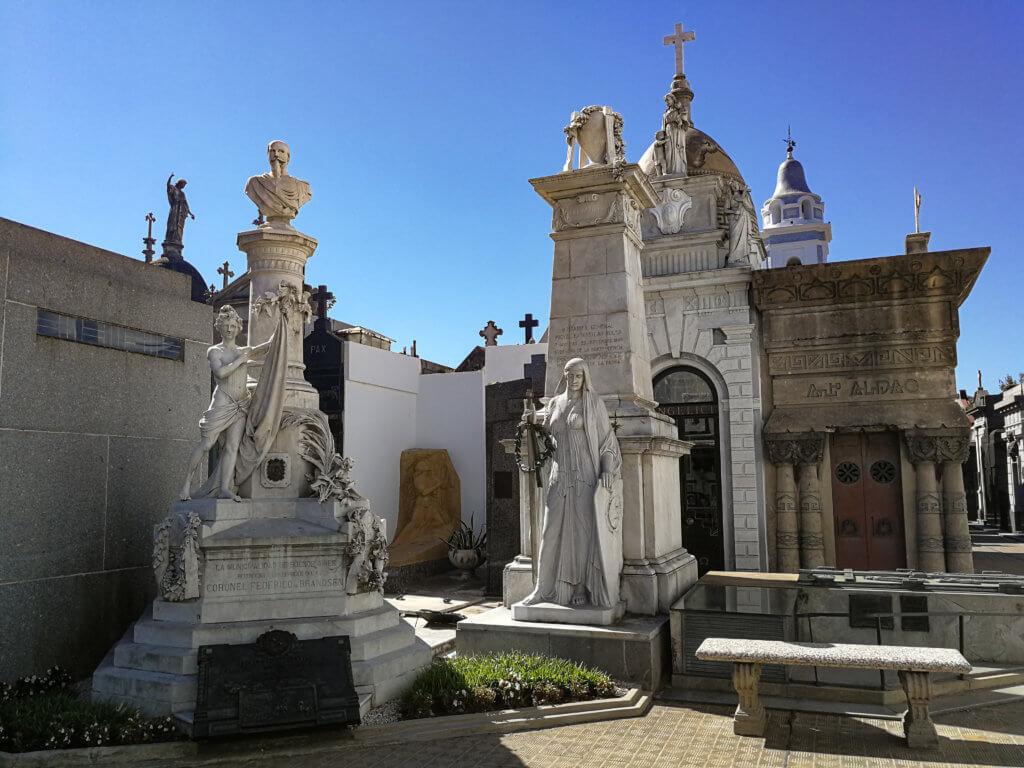 Friedhof in Recoleta