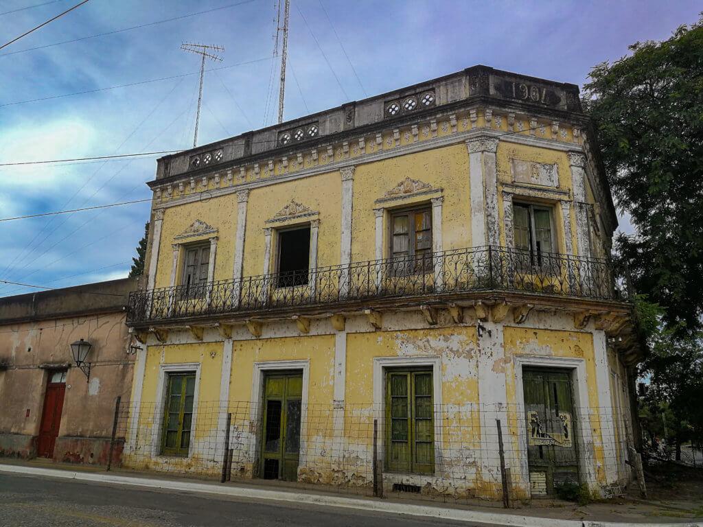 altes Haus in La Paz