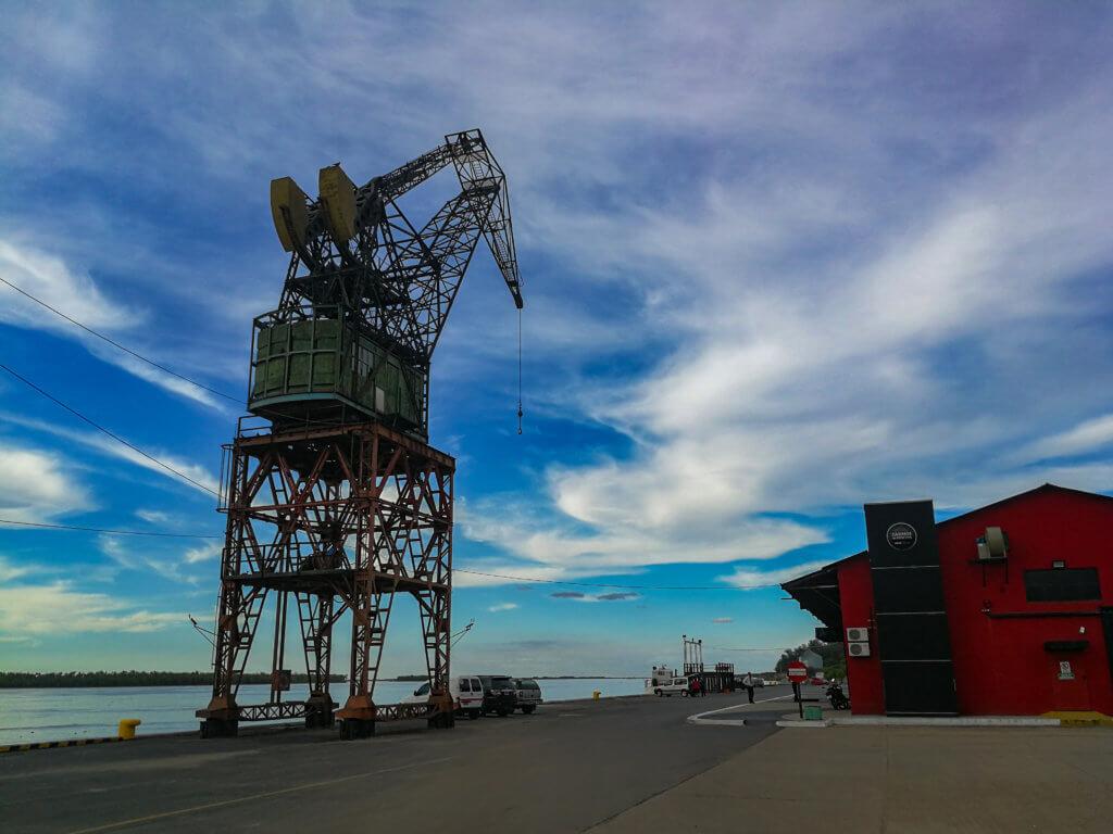 Hafen in La Paz