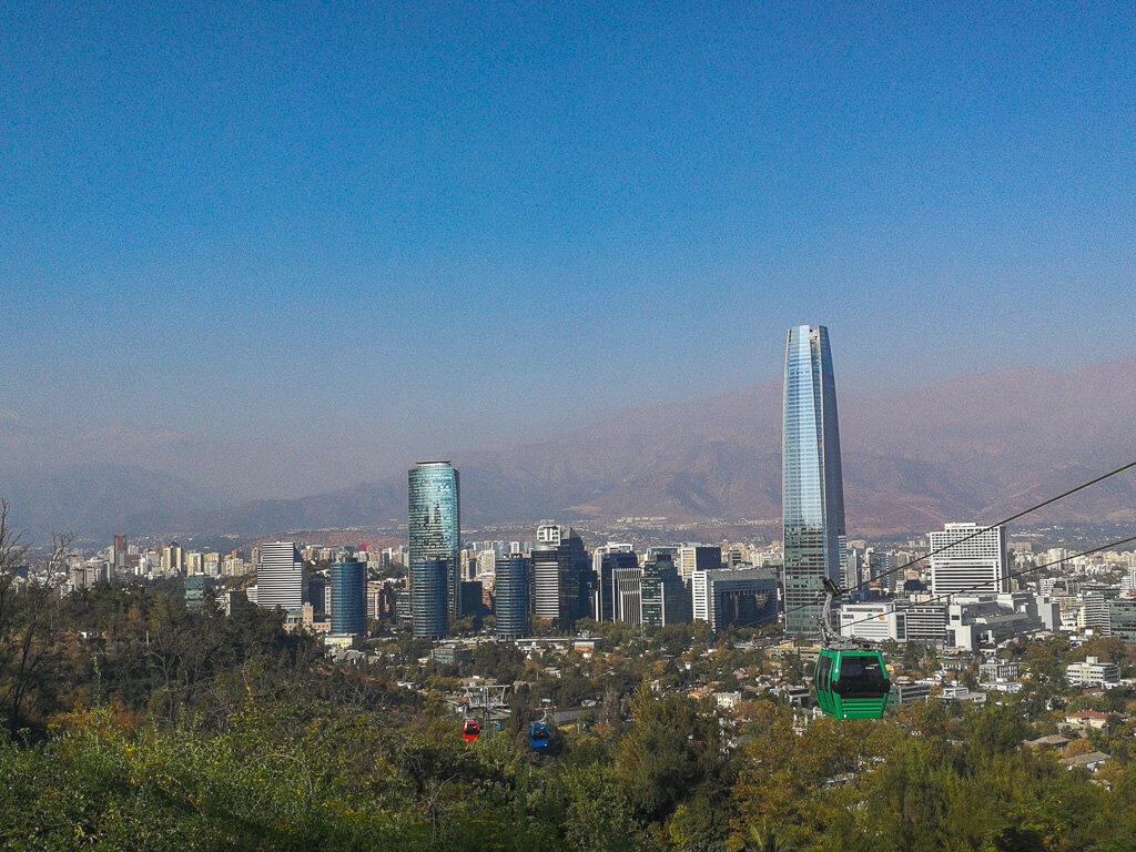 Ausblick vom Cerro San Cristobal