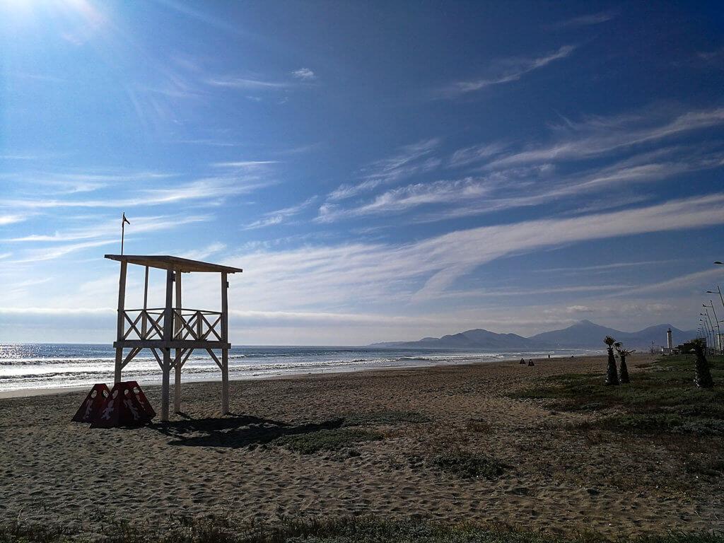 Strand in La Serena