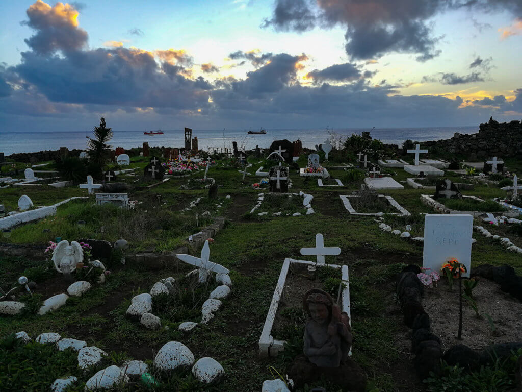 Friedhof auf der Osterinsel