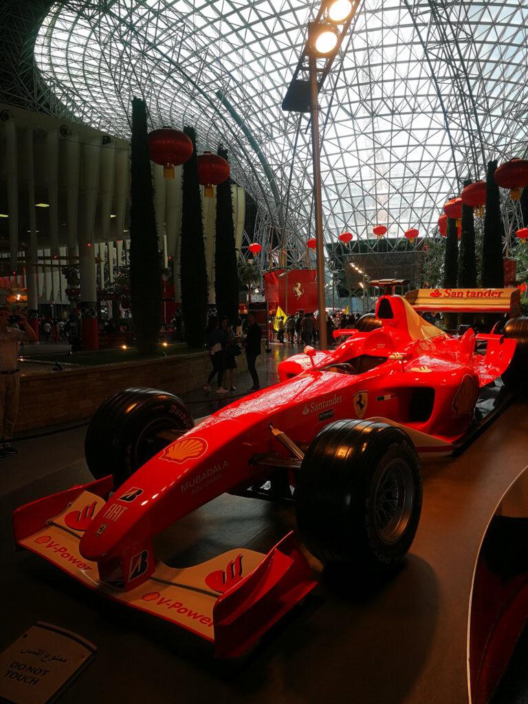 Ein Formel 1-Rennwagen