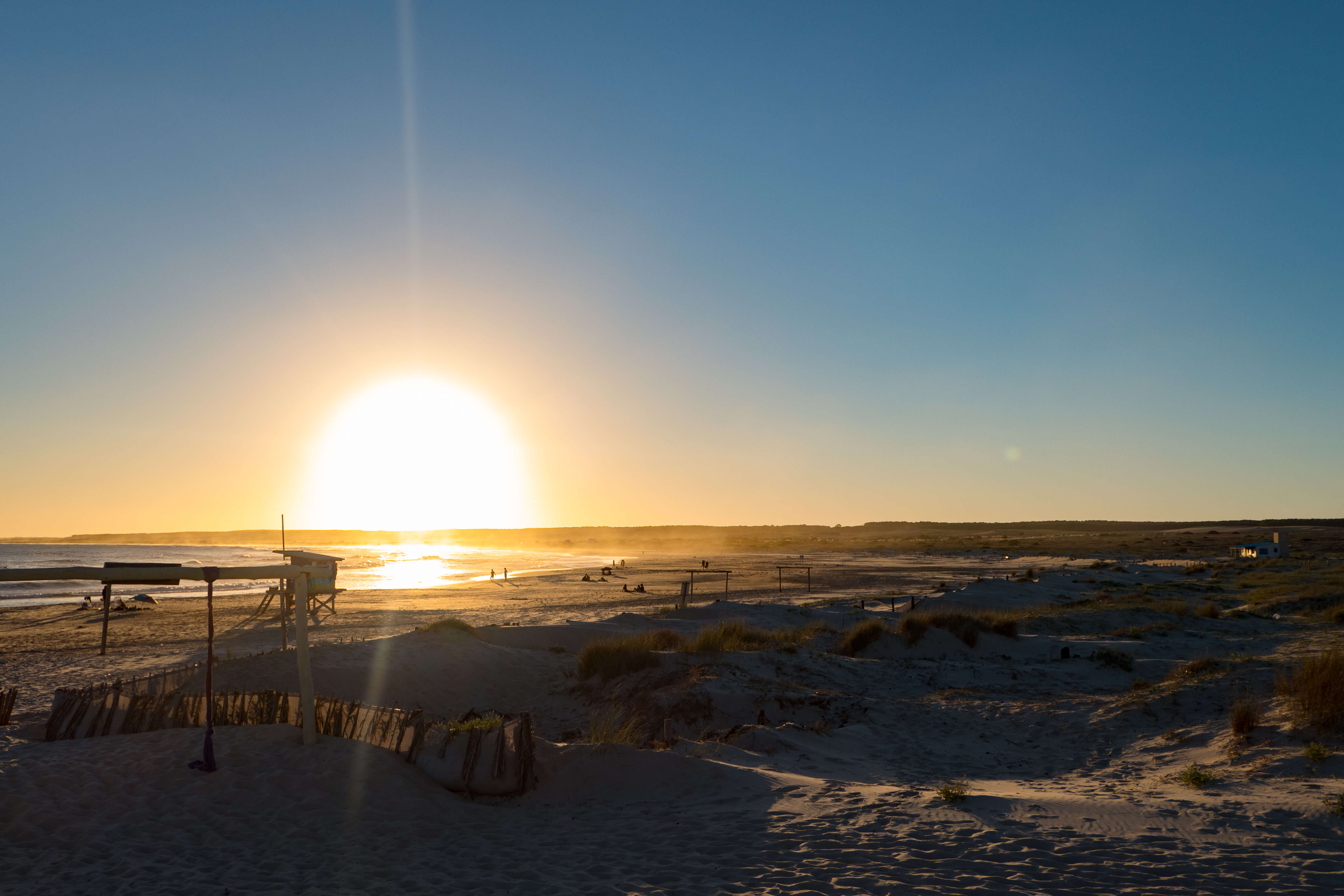 Sonnenuntergang in Cabo Polonio