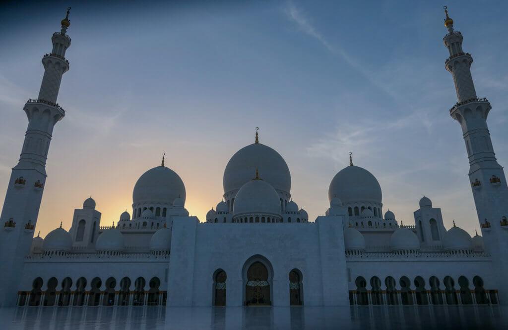im Innern der Moschee
