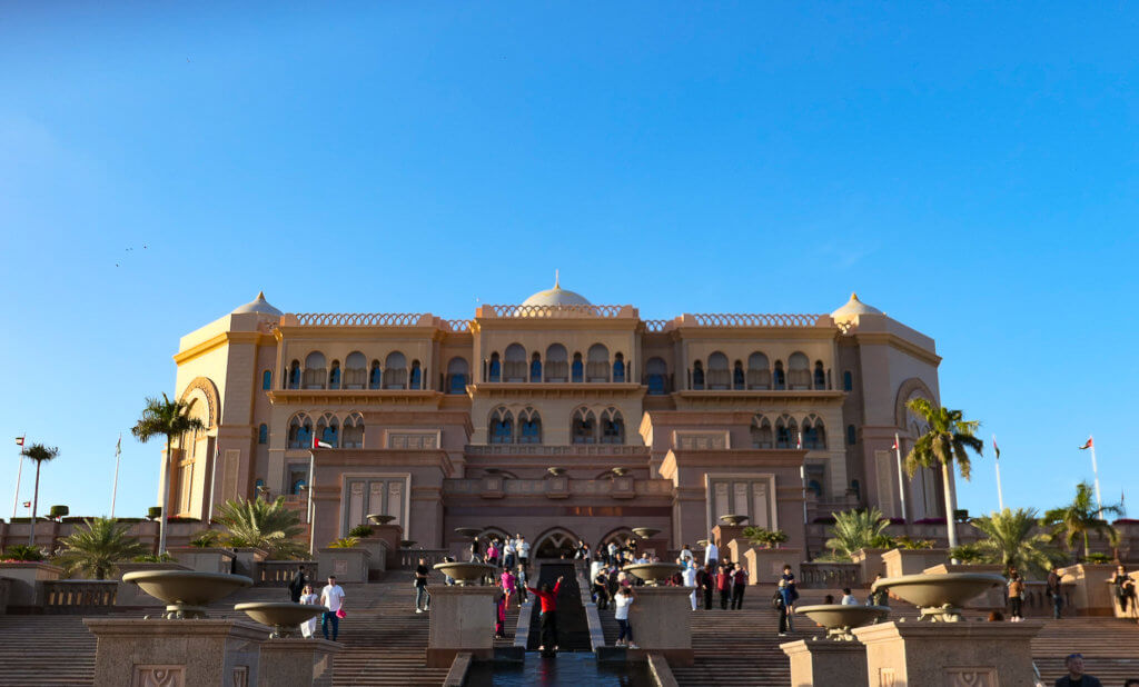 Das 5-Sterne-Hotel Emirates Palace