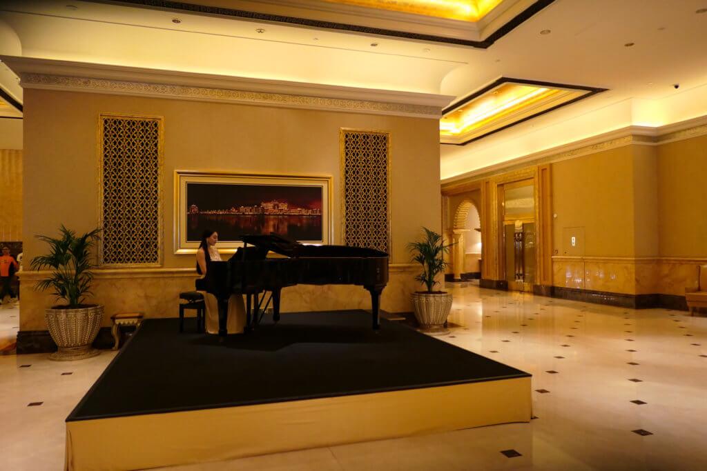 Konzert im Emirates Palace