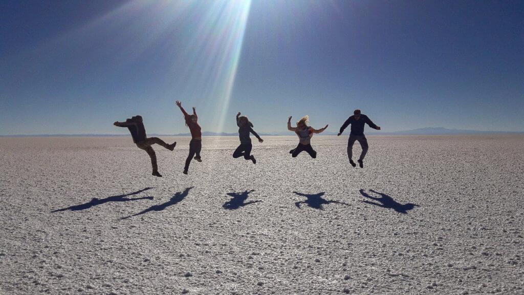 Gruppen-Jump