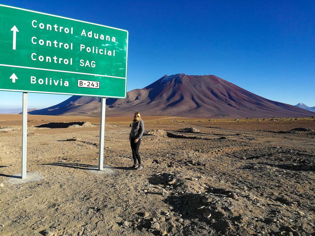 an der Grenze zu Bolivien