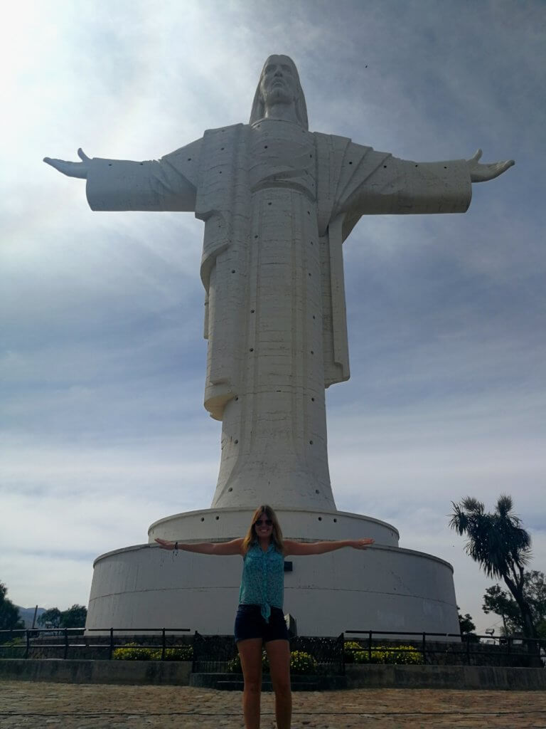 Christus-Statue in Cochabamba