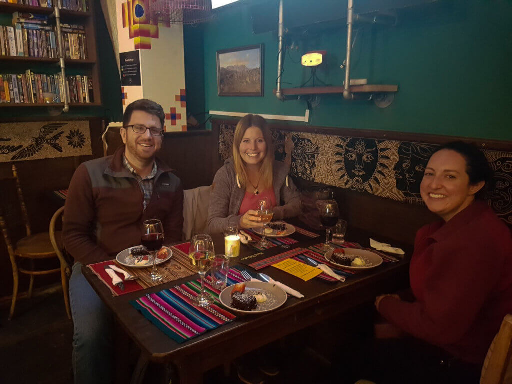 bei der Food-Tour in La Paz