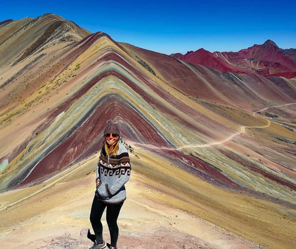 am Rainbow-Mountain