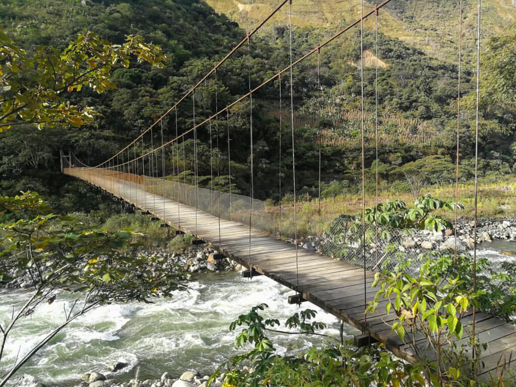 auf dem Weg zu Machu Picchu