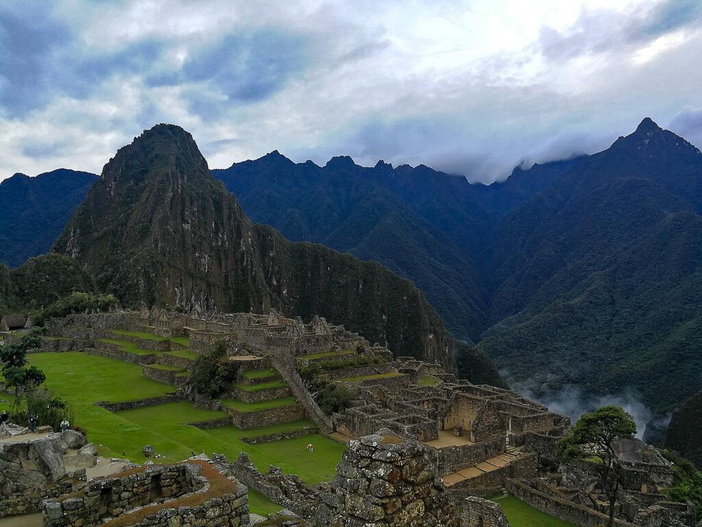 Die Ruinenstadt Machu Picchu