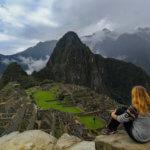 Aussicht auf Machu Picchu