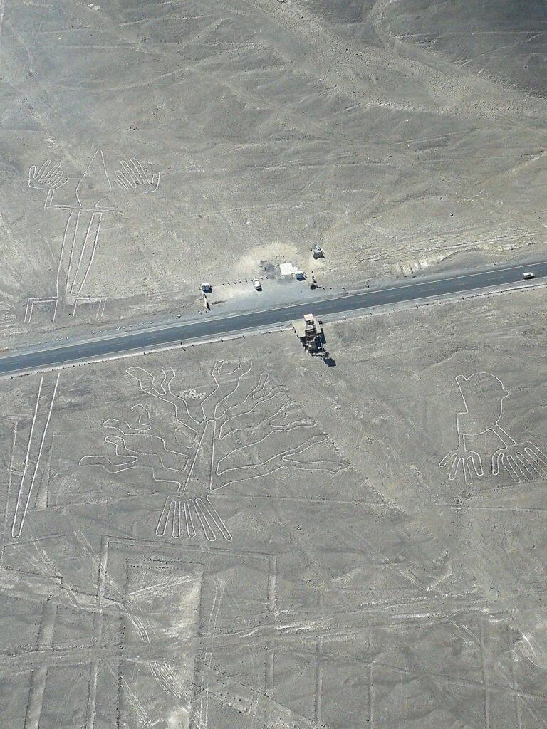 Nazca-Linien aus der Luft