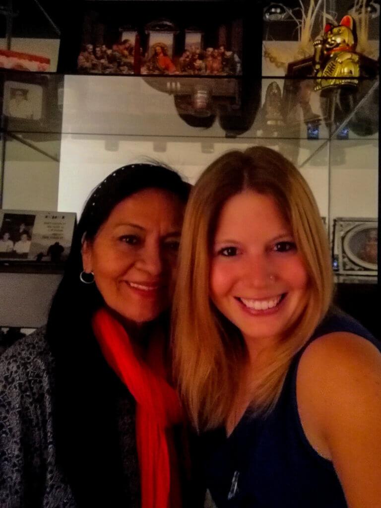 Mit Olga - meinem Engel in Peru