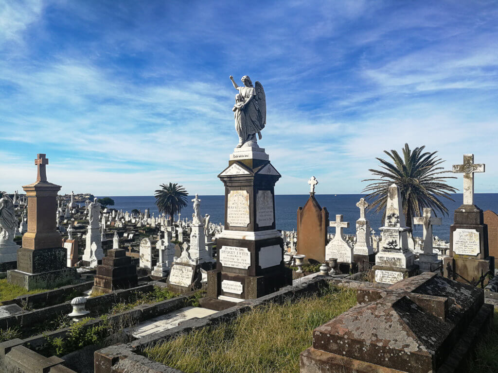 Friedhof am Coastal Walk